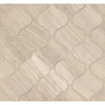 Marble Mosaic Tile in Ashen Grey