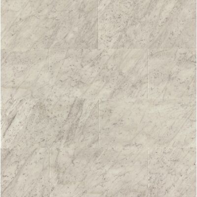 "12"" x 24"" Honed Marble Field Tile in White Carrara"