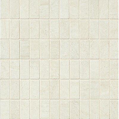 "Purestone 1"" x 2"" Porcelain Mosaic Tile in Bianco"