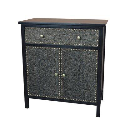 Ritz Accent Cabinet Color: Espresso / Bronze