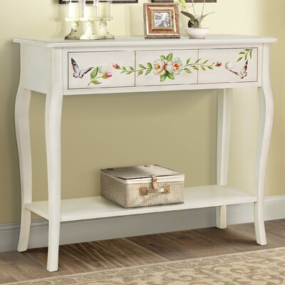 Sanger Hand-Painted Console Table