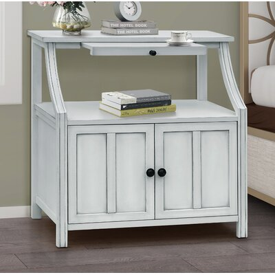 Gregorio 2 Door Accent Cabinet Color: Beige
