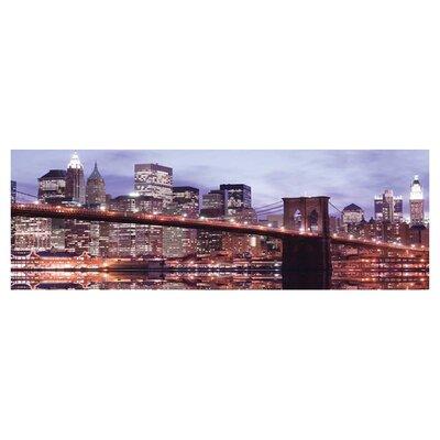 Innova Brooklyn Bridge Tempered Glass Photographic Print