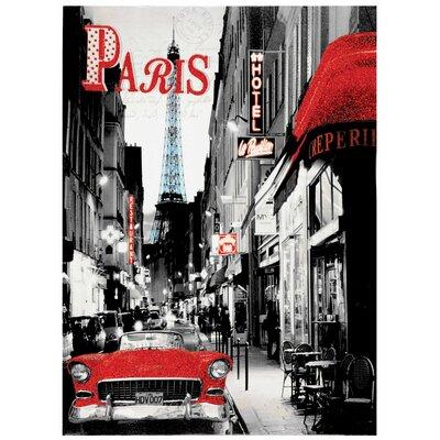 Innova Paris Hotel Vintage Advertisement on Canvas