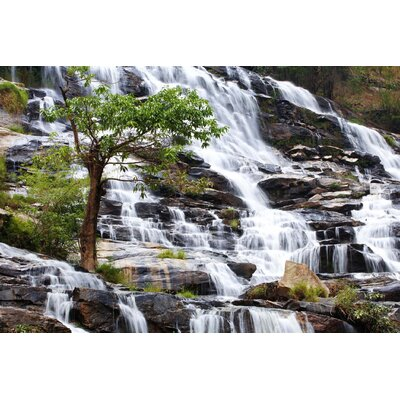 Innova Water Fall 2 Piece Tempered Glass Photographic Print Set