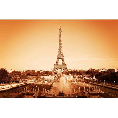 Innova Eiffel Tower Tempered Glass Photographic Print