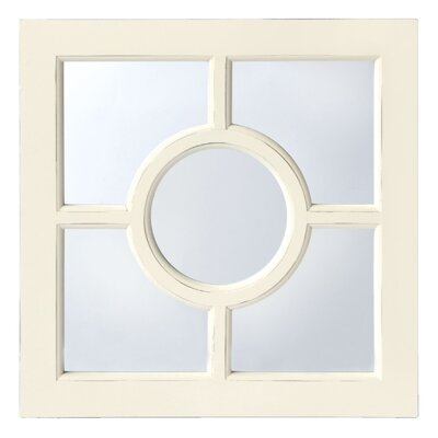 Innova Casa Distressed Window Mirror