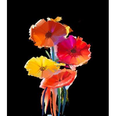 Innova Glass Majestic Flowers Tempered Glass Graphic Art