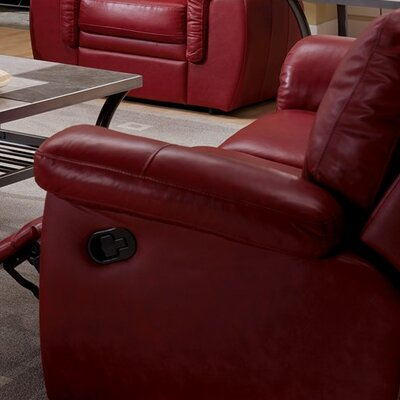 Brunswick Manual Swivel Rocker Recliner Upholstery: Tulsa II Sand