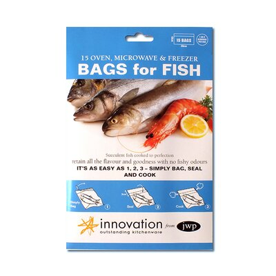 Innovation by JWP 30cm Polyester Fish Bag in Clear