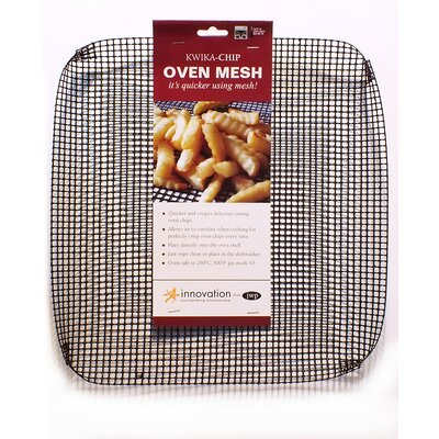 Innovation by JWP Kwika 36cm Square Reinforced PTFE Oven Mesh in Black