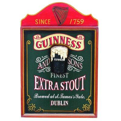 Derry's Nostalgia Guinness Framed Vintage Advertisement