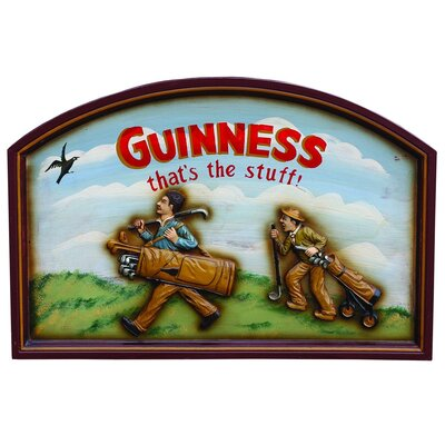 Derry's Nostalgia Guinness Vintage Advertisement Plaque