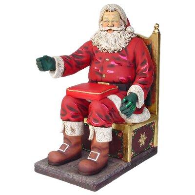 Derry's Santa on Throne