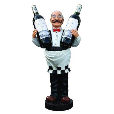 Derry's Nostalgia Wine Waiter Statue