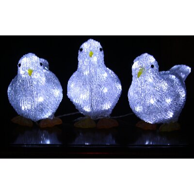 Derry's Christmas 3 Light Novelty String Lights