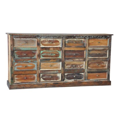 Derry's 16 Drawer Chest