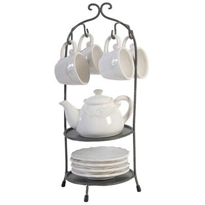 Derry's 9 Piece Ceramic High Tea Set