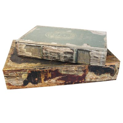 Derry's 2-Piece Vintage Book Box Set