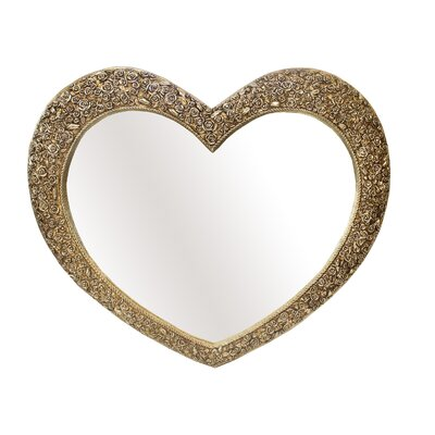 Derry's Rose Heart Wall Mirror