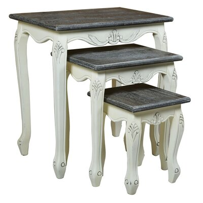 Derry's Heritage 3 Piece Nest of Tables
