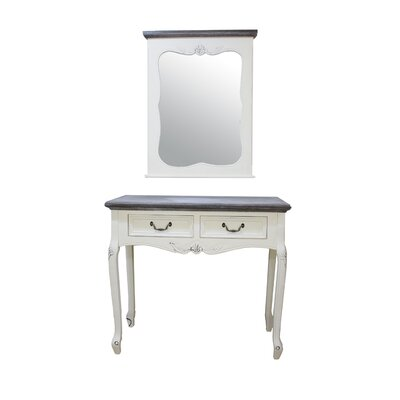 Derry's Heritage Dressing Table with Mirror