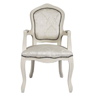 Derry's Louis Cream Upholstered Dining Chair