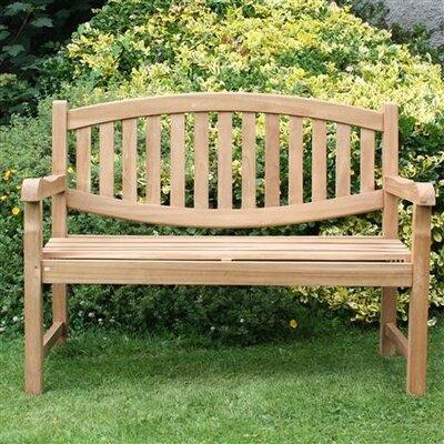 Derry's Wooden Park Bench