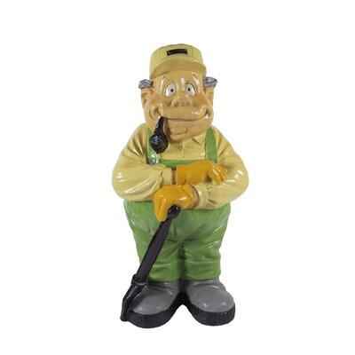 Derry's Nostalgia Gardener with Spade Garden Statue