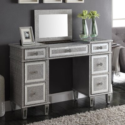 Derry's Sofia Dressing Table with Mirror