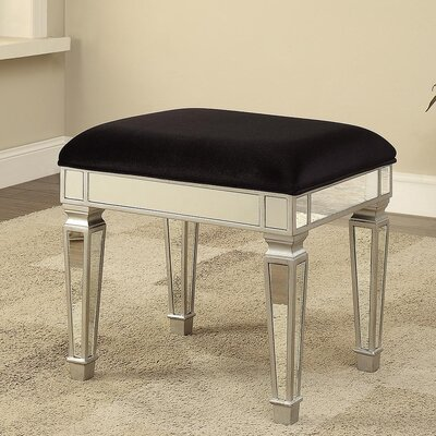 Derry's Sofia Upholstered Dressing Table Stool