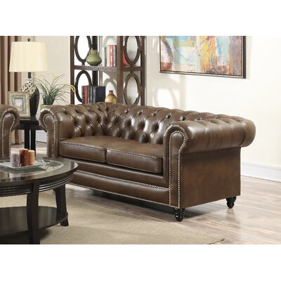 Derry's Chesterfield 2 Seater Sofa