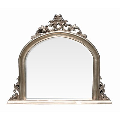 Derry's Ornate Over Mantle Wall Mirror