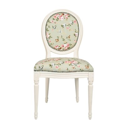 Derry's Floral Upholstered Dining Chair