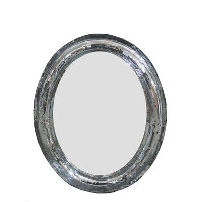Derry's Oval Mosaic Mirror