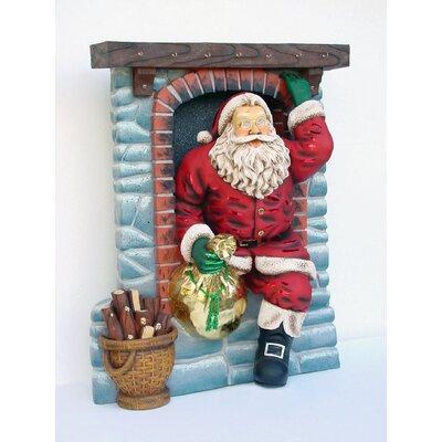 Derry's Santa Down Chimney