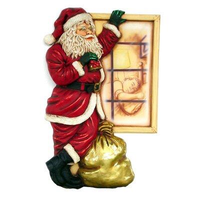 Derry's Santa by Window
