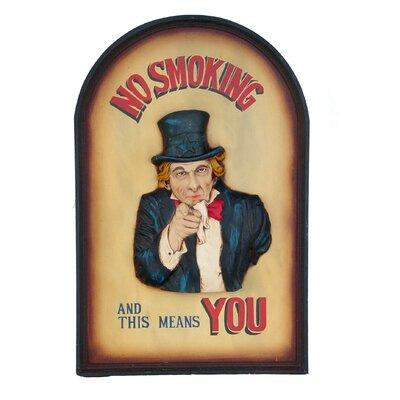 Derry's Nostalgia No Smoking Framed Art