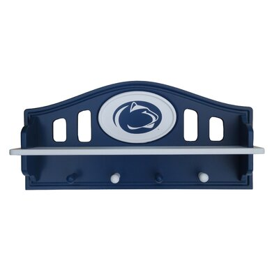 NCAA Coat Rack with Shelf NCAA Team: Penn State
