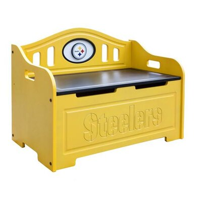 NFL Storage Bench NFL Team: Pittsburgh Steelers