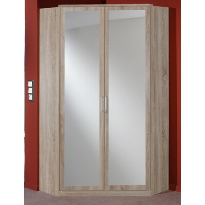 All Home Snap 2 Door Wardrobe