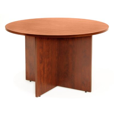 Legacy Circular Conference Table Size: 4' L Diameter, Finish: Cherry