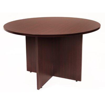 "Legacy Circular Conference Table Size: 3' 6"" L Diameter, Finish: Mahogany"