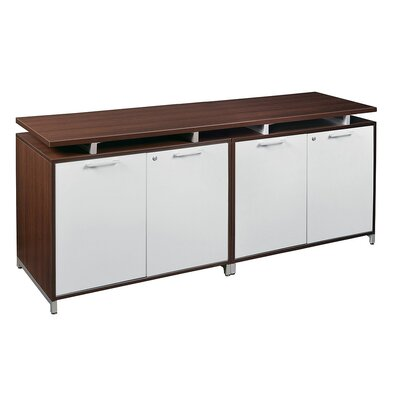 Maverick 4 Door Wood Credenza
