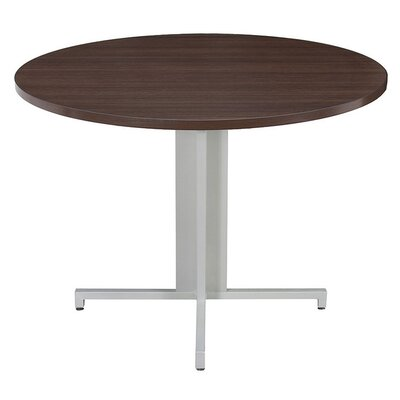 """OneDesk Circular 29""""H x 42""""W x 42""""L Conference Table"""