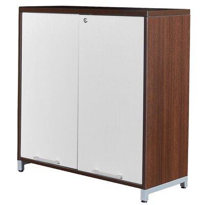 Maverick 2 Door Wood Storage Cabinet
