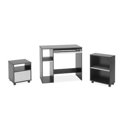3-Piece Standard Desk Office Suite