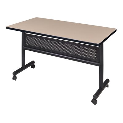 """Marin Training Table with Wheels Tabletop Finish: Mahogany, Size: 29"""" H x 60"""" W x 24"""" D"""