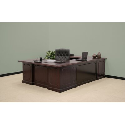 "Regency Prestige Double Pedestal ""U"" Executive Desk"