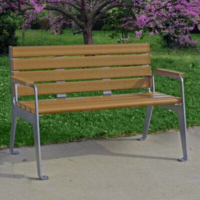 Plaza Bench Color: Cedar